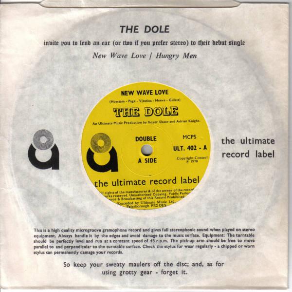 """New Wave Love - 7"""" vinyl release"""