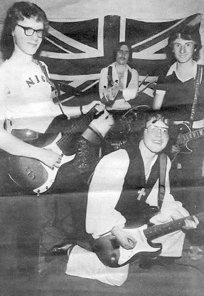 L-R: Mick Drury, Peter Ward, Mark Lindores, John Mattera