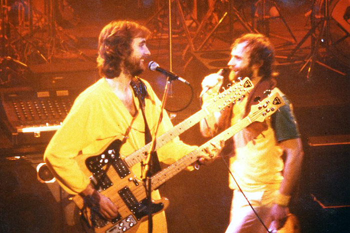 Genesis on stage at the ABC 1980